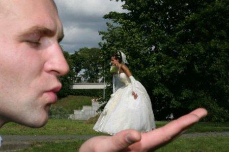 Креативные шедевры свадебных фотографов