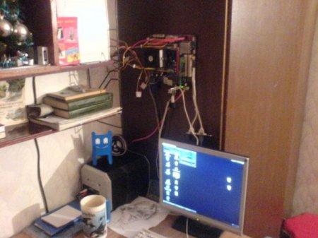 Дома у программиста....