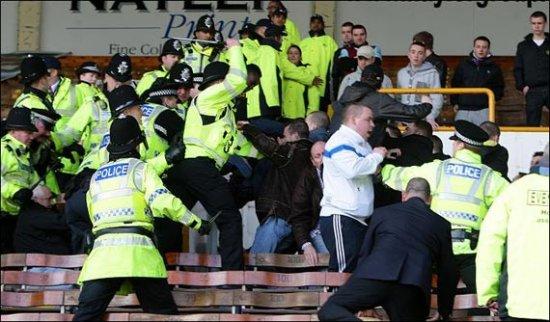 """The FA начала расследование беспорядков во время матча """"Бернли"""" - """"Блэкберн"""""""