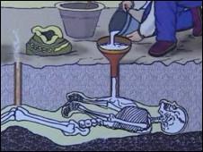 В Помпеях показывают тела жертв извержения Везувия