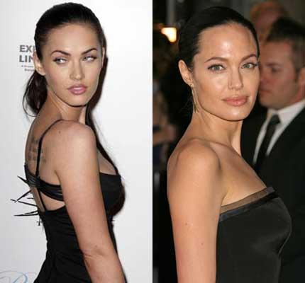 Меган Фокс страдает от Анджелины Джоли