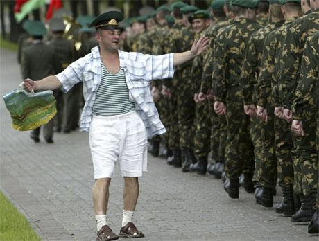 Конкурс в белорусскую армию уже отменили?