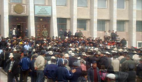 Ці магчыма паўтарэньне кіргіскіх падзеяў у Беларусі?