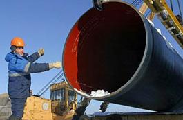 Россия начала строить газопровод в обход Беларуси