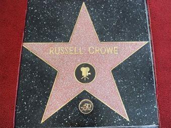Рассел Кроу получил звезду на Аллее славы