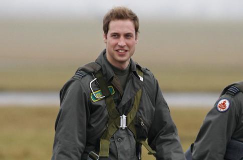 Принц Уильям будет служить на базе королевских ВВС в Уэльсе