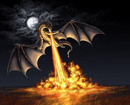 Сказка про Рыцаря и Дракона, часть 1