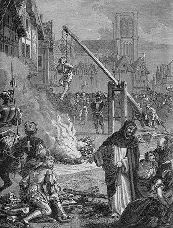 Пытки и казни ведьм в Средневековье