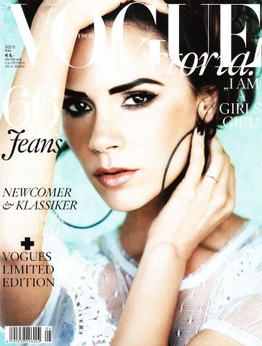 Виктория Бекхэм для немецкого Vogue