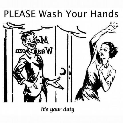 Кто научил мир мыть руки и почему их мыть не нужно?