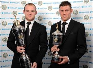Уэйн Руни лучший игрок года в Английской Премьер Лиге !