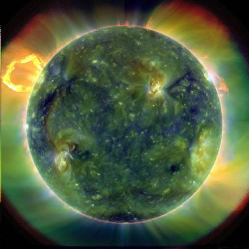 Психоделическое Солнце: Лучше, чем в телевизоре