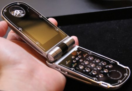 Celsius X VI II LeDIX - живые фото телефона за $300000