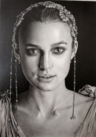 Карандашные портреты знаменитостей