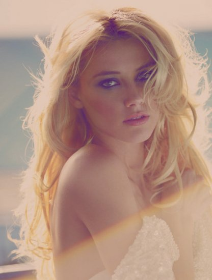 Amber Heard by Guy Aroch for French Revue de Modes April 2010