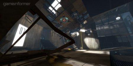 Новые иллюстрации игры Portal 2