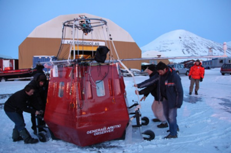 Француз отправился к Северному полюсу на воздушном шаре