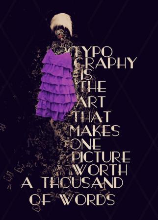 30 типографических картин
