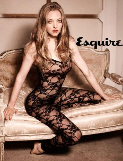 Аманда Сейфрид в Glamour, Esquire