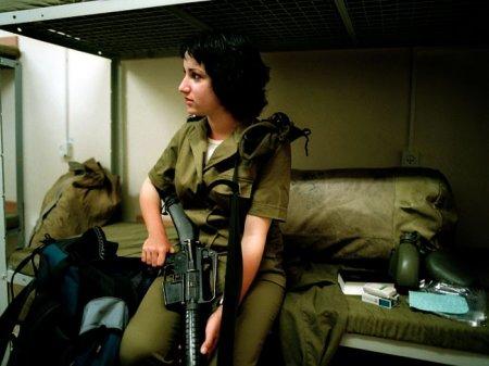 Израильские армейские девушки