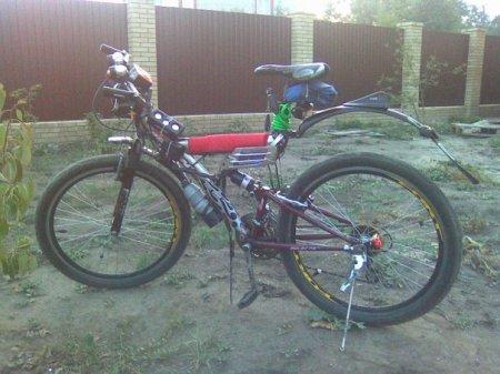 Серьезный тюнинг велосипеда