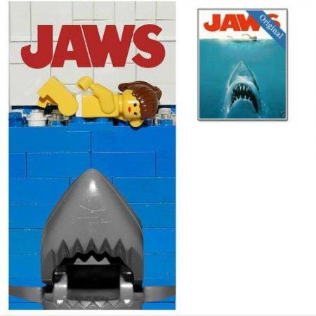 Кинопостеры из Lego