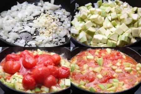 Закрытая пицца кальцоне с овощами