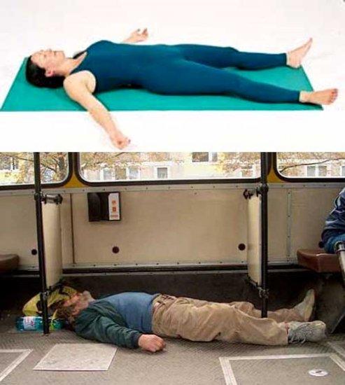 Исследования показывают, что алкоголь дает те же результаты, что и йога!