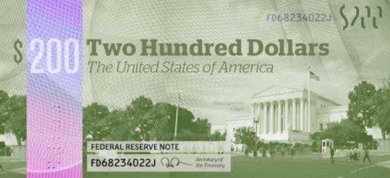Новые доллары