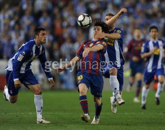 Фотообзор матча Эспаньол - Барселона