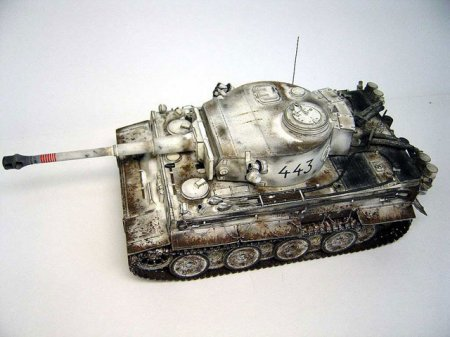 Модель 1:35 Tiger I early, winter 1943