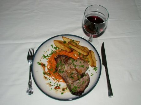 Мраморный Антрекот или Ковбойский стейк