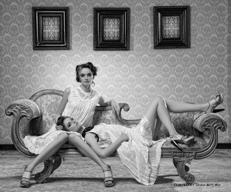 """Гламур """"без цвета""""... Фотограф Mamuka Kikalishvili"""