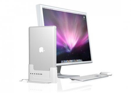 Док-станция превращает MacBook Pro в настольный ПК