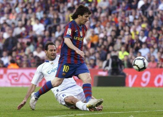 Фотообзор матча Барселона-Хереc
