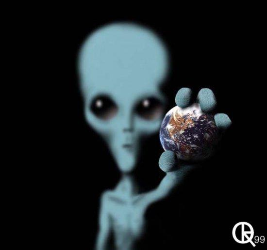 Инопланетяне выжмут Землю без остатка