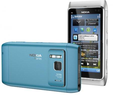 Nokia N8 - официальные фото  нового смартфона
