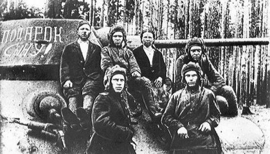советские люди - фронту