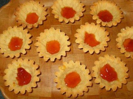 Корзиночки с фруктовым зефиром