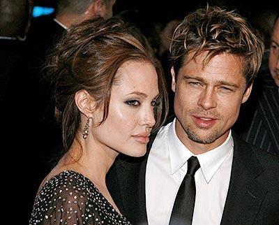 Джоли сделала предложение Брэду Питту