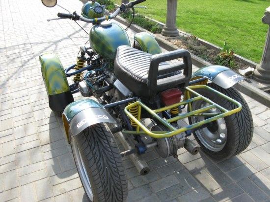 Квадроцикл из Урала