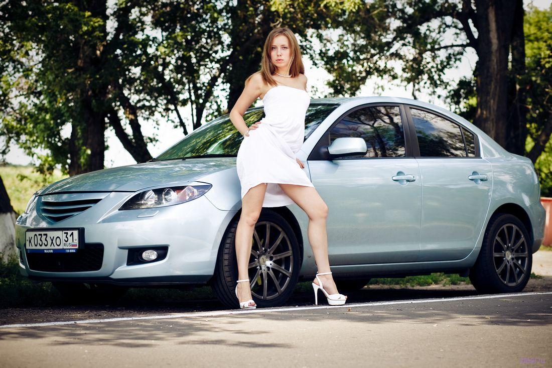Русские девушки и машины фото 7 фотография