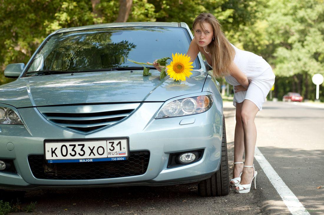 Русские девушки и машины фото 10 фотография