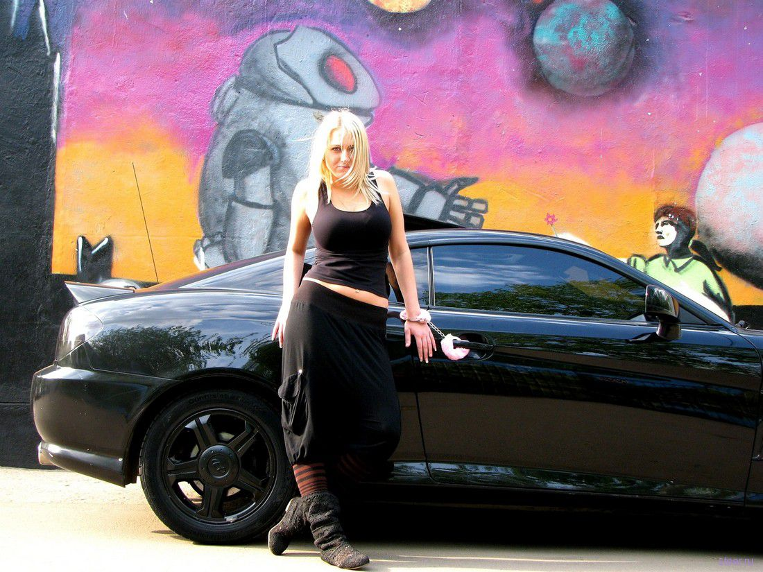 Русские девушки и машины фото 13 фотография