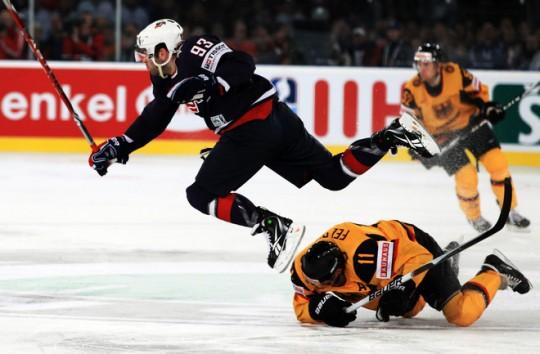 Хоккей. Германия сенсационно победила США
