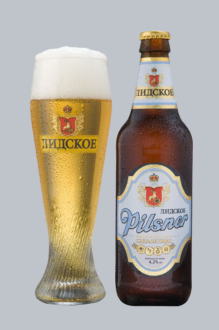«Лидское пиво» выпустило новый сорт пива – «Лидское Pilsner»