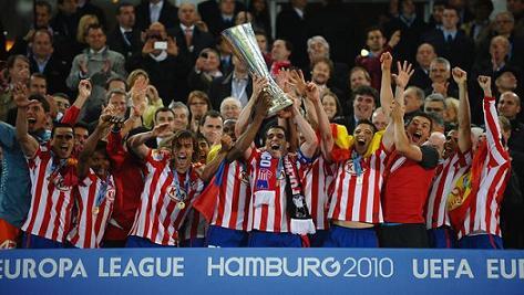 """Футбол: мадридский """"Атлетико"""" впервые в истории выиграл Лигу Европы"""