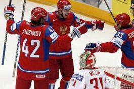 В первом матче второго этапа ЧМ по хоккею белорусы сыграют с финнами