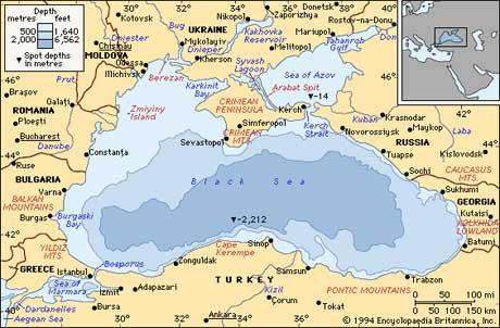 Черное море. Интересные факты