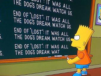 """""""Симпсоны"""" раскрыли тайну """"Остаться в живых"""""""